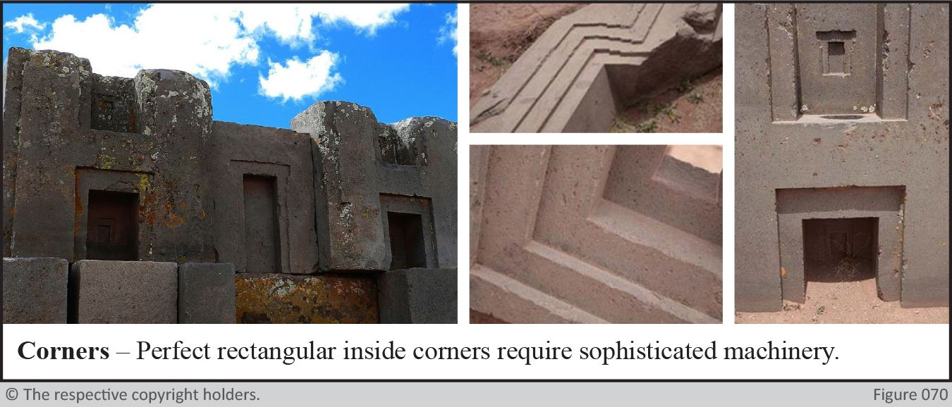 Ancient Stone Cutting - Corners