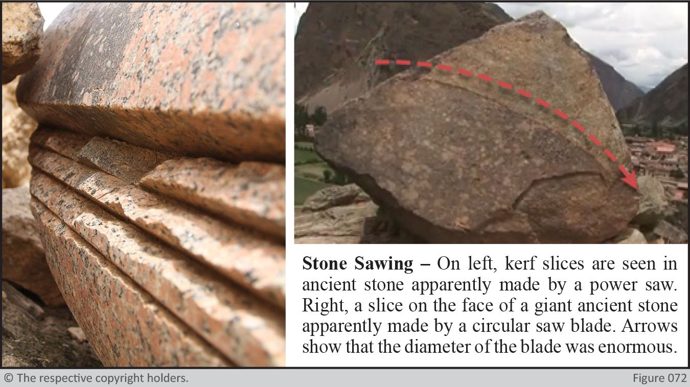Ancient Stone Cutting - Stone Sawing