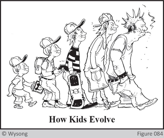 How Kids Evolve