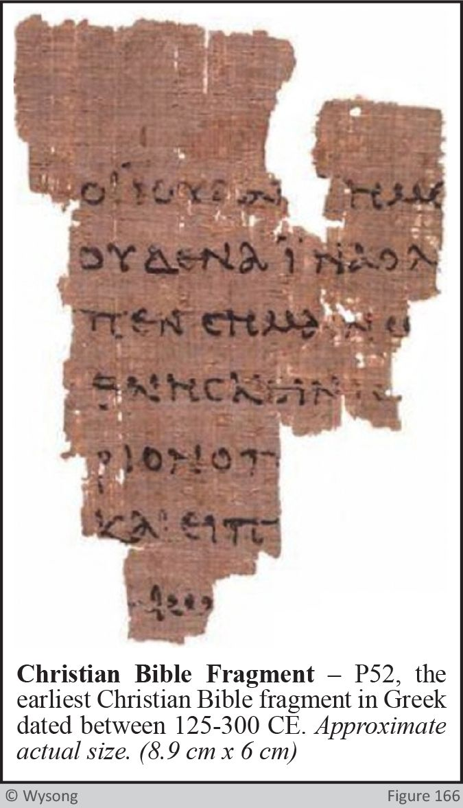 Christian Bible Fragment