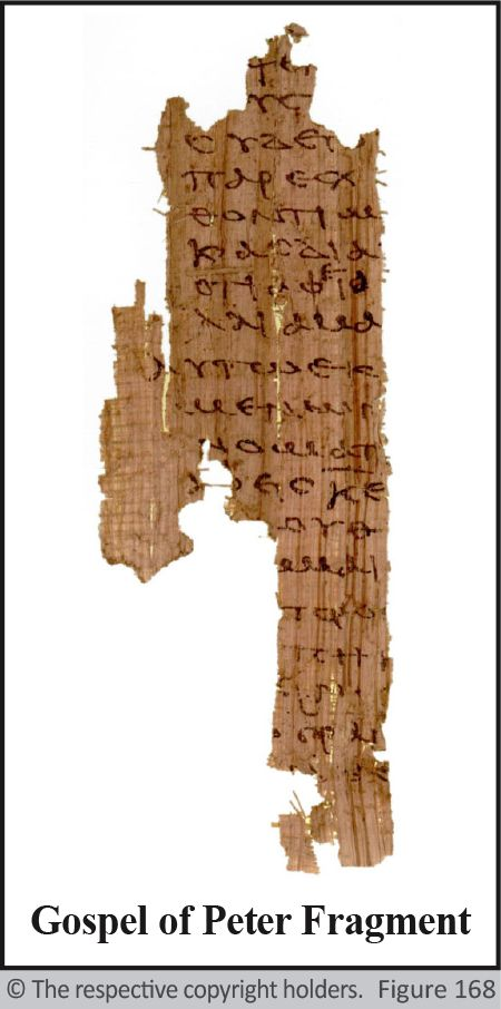 Gospel of Peter Fragment