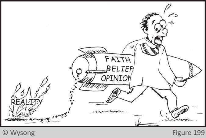 Faith Belief Opinion Reality