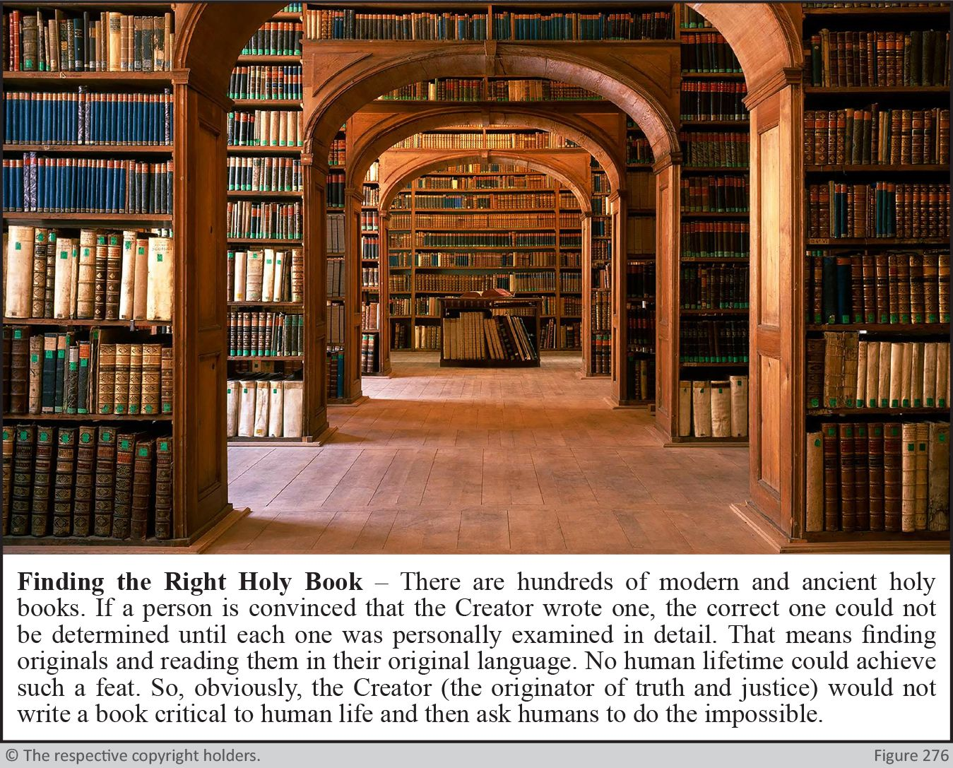 Finding The Right Holy Book