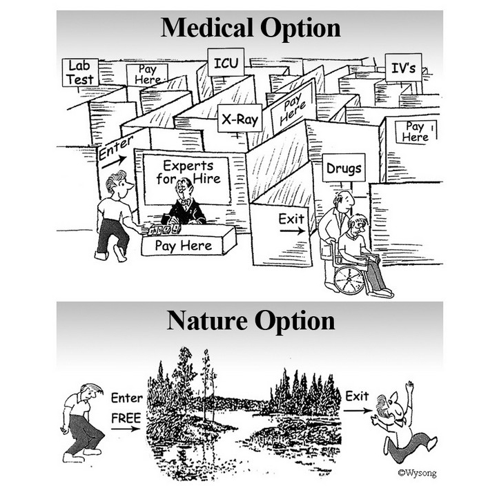 Medical vs Nature Option