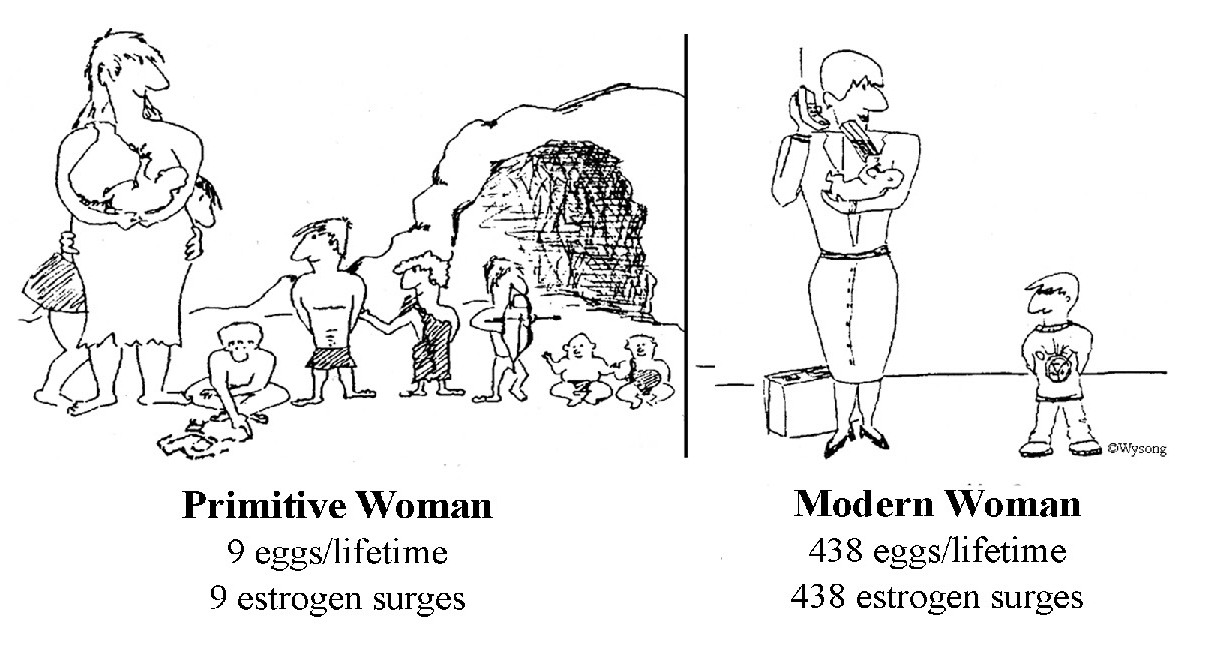 Primitive vs Modern Women