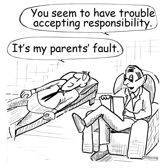 Trouble Accepting Responsibility