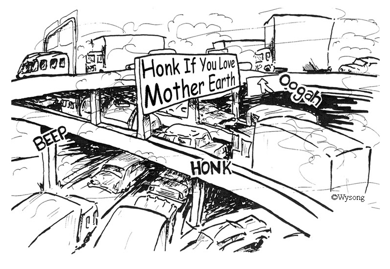 Honk If You Love Earth