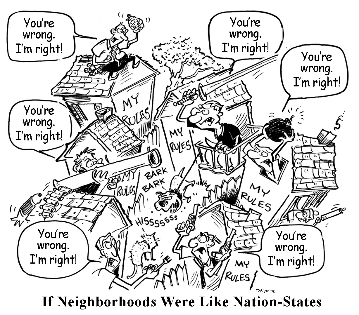 Neighborhoods Like Nation-States