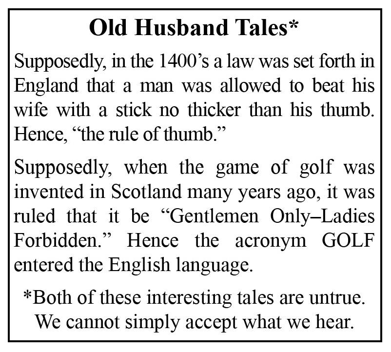 Old Husband Tale